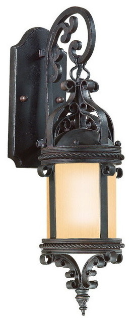 Troy-CSL Lighting BF9121OBZ-D Pamplona 1 Light Outdoor Wall Lights in Old Bronze outdoor-products