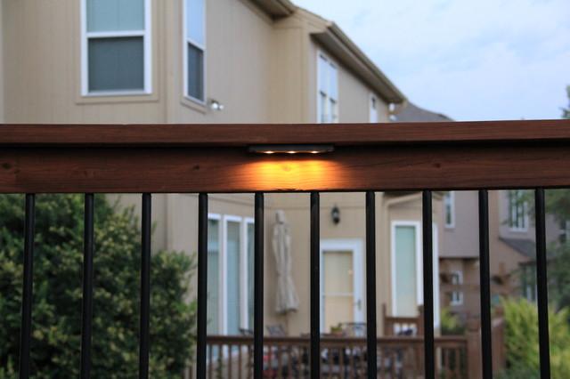 Deck Lighting / Under rail lights - Traditional - kansas city - by Moonlight Decks LLC