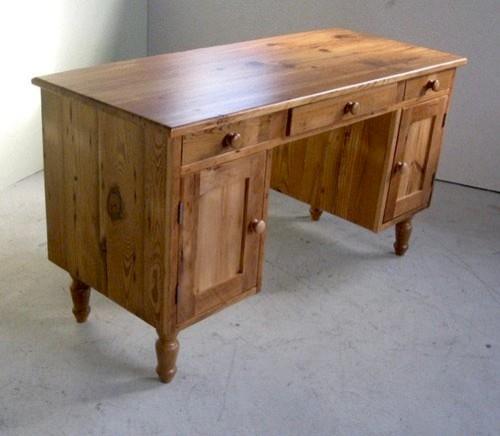 Antique Style Wooden Desk For Bedroom Farmhouse Boston