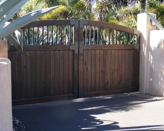 Old World Gate Collection - Wood and Iron Gates -