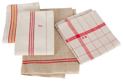 Antique French Tea Towel | Jayson Home & Garden eclectic dishtowels