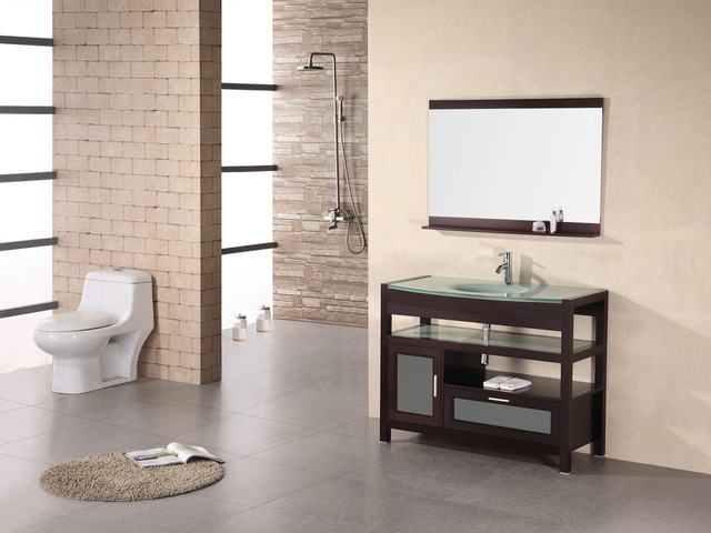 "43"" Milan Single Bath Vanity (DEC025) modern-bathroom-vanities-and-sink-consoles"