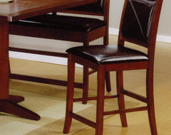 Lancaster Collection Counter Height Table Stool in Brown, Set of 2 modern-bar-stools-and-counter-stools