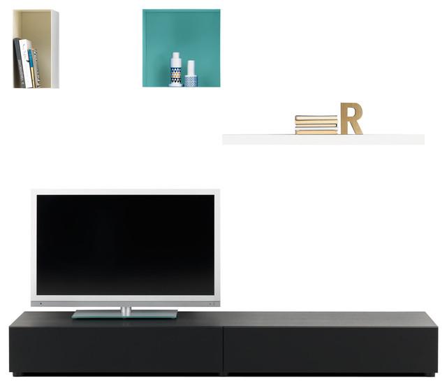 modern media units quality from boconcept modern. Black Bedroom Furniture Sets. Home Design Ideas