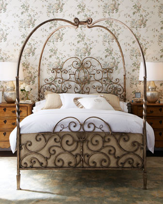 'Tuscany' Bedroom Furniture traditional-beds