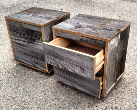 Reclaimed Wood Nightstands (2) -