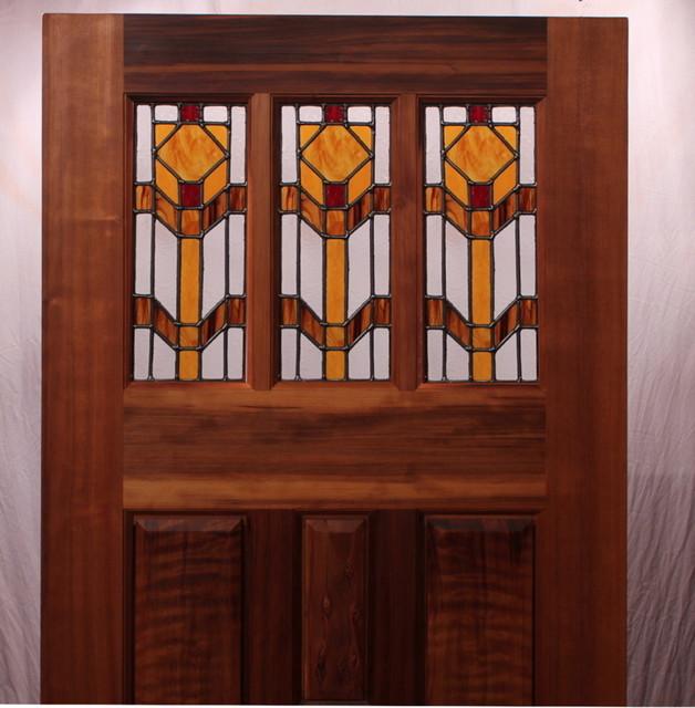 The Oak Creek Prairie Entry Door - Modern - Front Doors - san francisco - by Zoleta Lee Designs