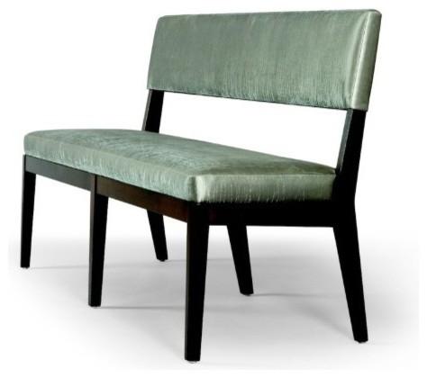 Chevron Bench contemporary-dining-benches