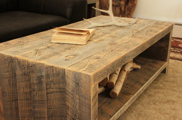 Reclaimed Wood Coffee Table Modern Tables Denver By JW Atlas Co