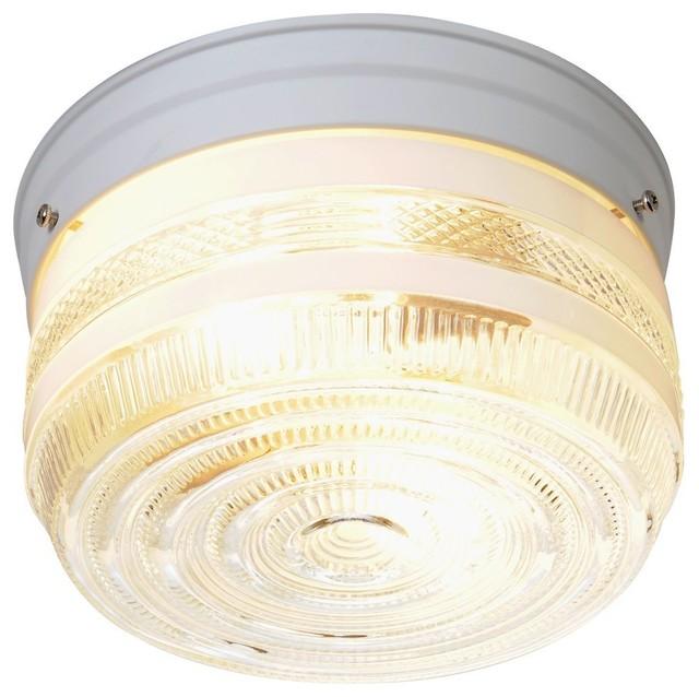 Simple  Flush Mount Bathroom Ceiling Light Transitionalflushceilinglights