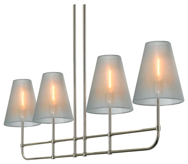 Pool Table Light Modern: Sonneman Lighting 1964.35 Bistro Contemporary Kitchen
