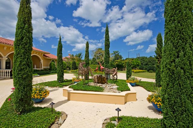 Pine Ridge Villa mediterranean-landscape