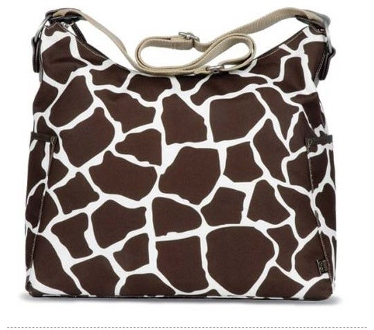 Giraffe Hobo Diaper Bag by OiOi Baby Bags modern-kids-products