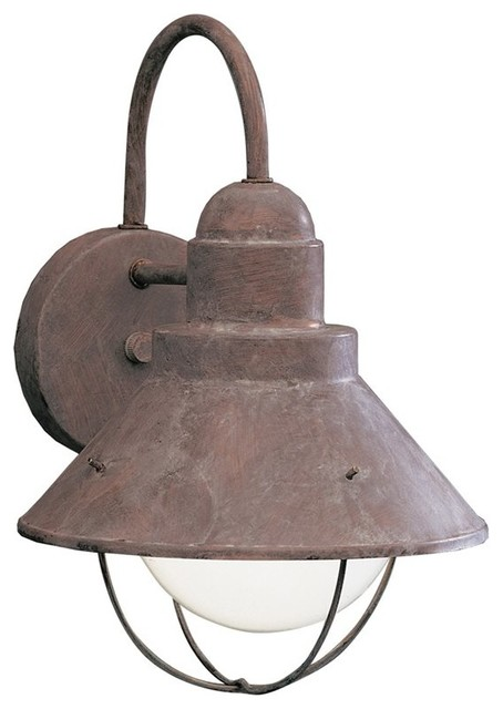 Rustic Outdoor Wall Sconce - Rustic - Outdoor Wall Lights And Sconces - by Arcadian Home & Lighting