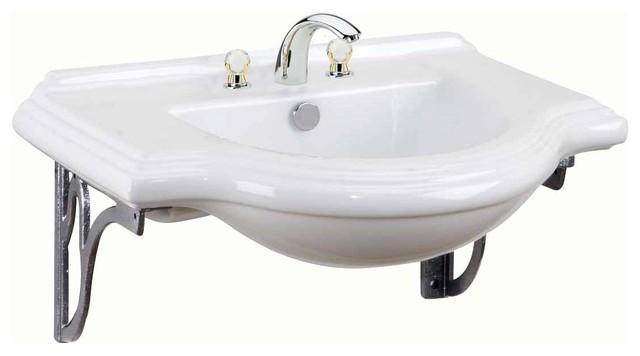 Wall Mount Bathroom Sink Cast Iron Brackets - Modern - Bathroom Sinks ...