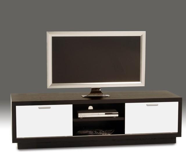 Diamond Sofa - 72 Inch Low Profile Plasma Cabinet - k236b - Contemporary - Entertainment Centers ...