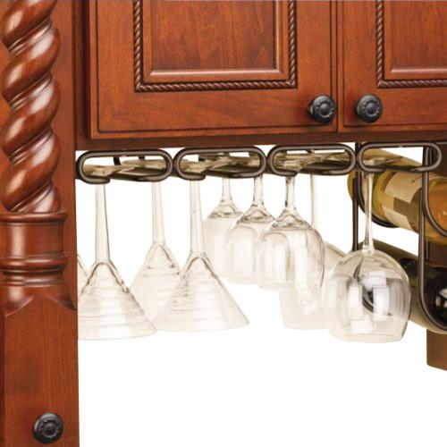 """Rev-A-Shelf 3450-11ORB 11"""" Quad Under Cabinet Stemware ..."""