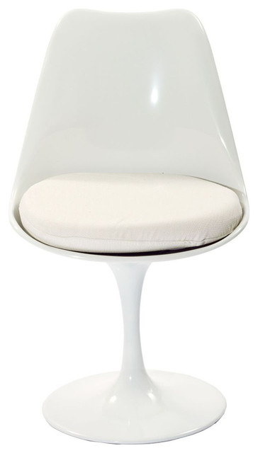 Lippa Dining Chair in White modern-dining-chairs