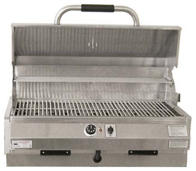 Electri-Chef Island Marine 32 in. Built-In Electric Grill - Single Burner Multic contemporary-outdoor-grills