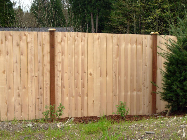 Wood Privacy Fences - Home Fencing And Gates - chicago - by Dynasty ...