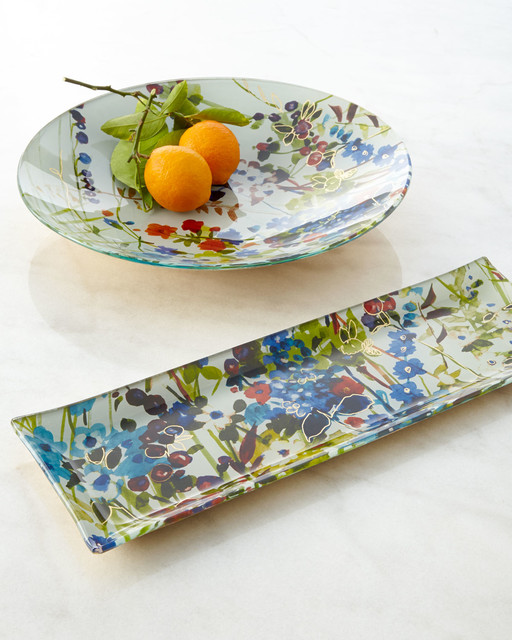 Padma Padma Wildflower Serveware contemporary-serving-dishes-and-platters