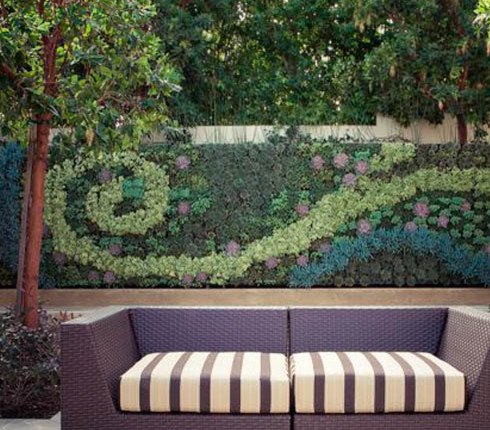 GroVert Living Wall Planter  plants