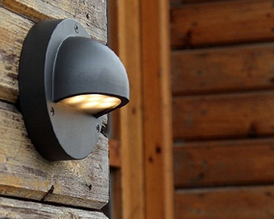 Modern Outdoor LED Wall Sconce and Lamp - Modern Outdoor LED Wall Sconce and Lamp