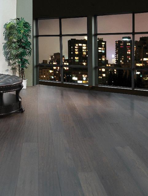 LM Flooring Hand Scraped Bentley Woodstock - Coffee Brown contemporary-hardwood-flooring