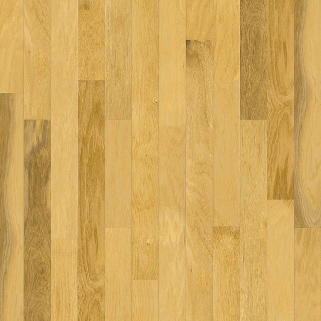 Hickory natural hardwood flooring richmond by korus for Natural hardwood floors