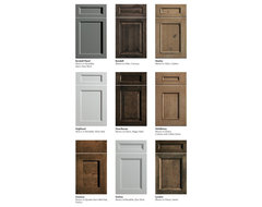 Dura Supreme Cabinetry New Door Styles traditional-kitchen-cabinets
