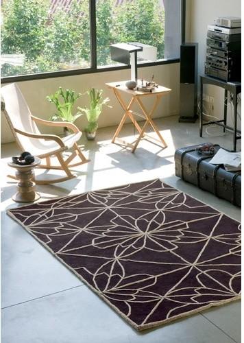 African House 2 Rug modern-rugs