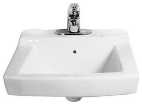 American Standard Declyn 0321026 Wall Mount Bathroom Sink contemporary ...