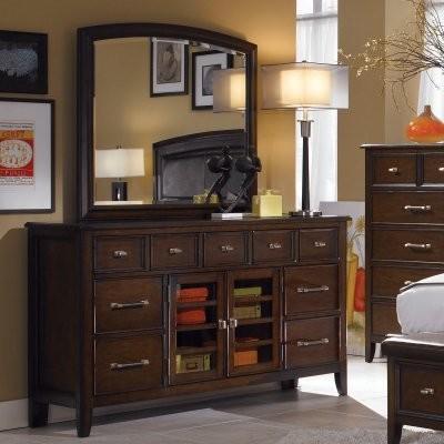 Tangerine 300 - 7 Drawer Dresser modern-dressers
