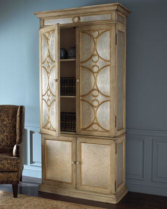 Silver Armoire traditional-dressers-chests-and-bedroom-armoires