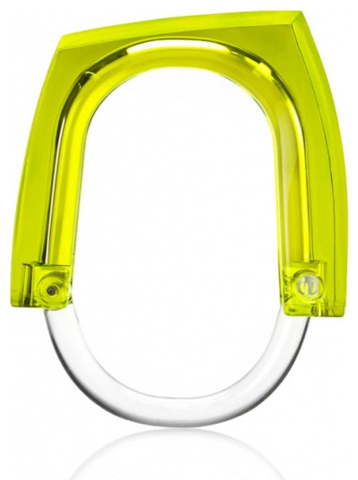 Kontextür Neon+Squared Curtain Rings contemporary bath products