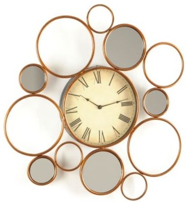 Multi-Circle Wall Clock modern-clocks