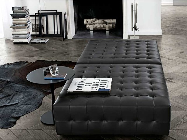 Poliform Gant Pouf modern ottomans and cubes