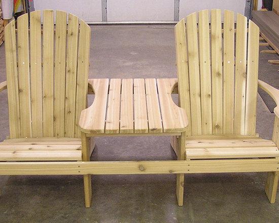 Woodwork By Stan LLC - Adirondack Tete-A-Tete -