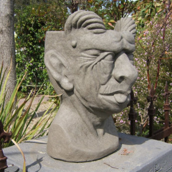 Gargoyle Head Planter eclectic-originals-and-limited-editions