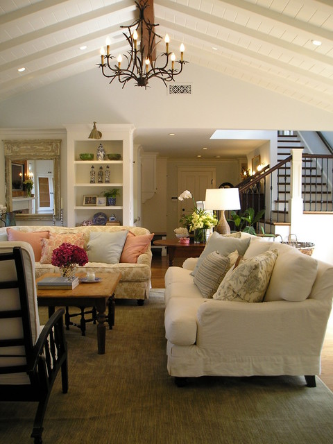 Casual Living Room traditional