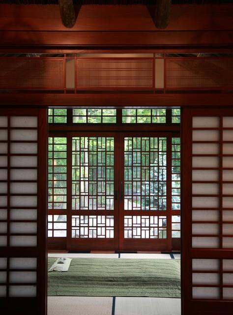 Mahogany windows and doors asian-windows-and-doors
