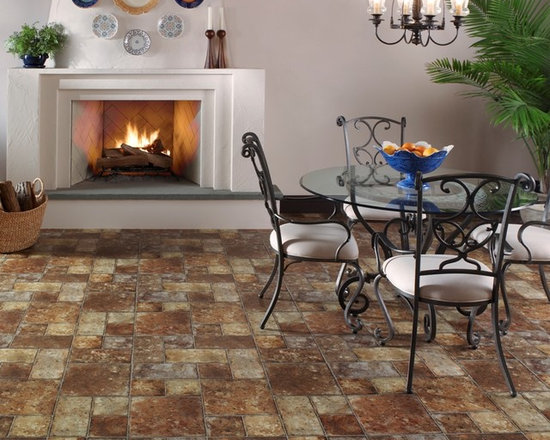 Sobella Omni HD fiberglass core, vinyl sheet flooring from Mannington -