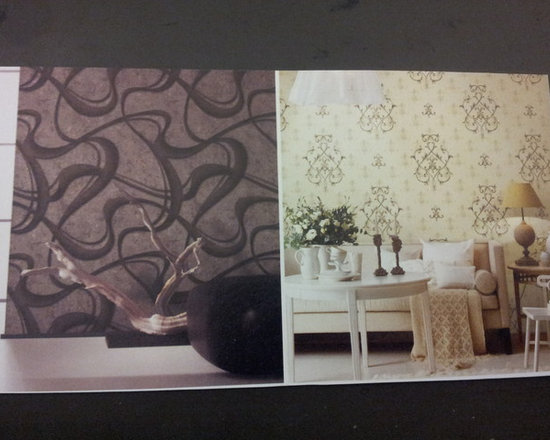 Wallcoverng that can Give you some Punch! - Fabulous for accent walls in almost any decor.