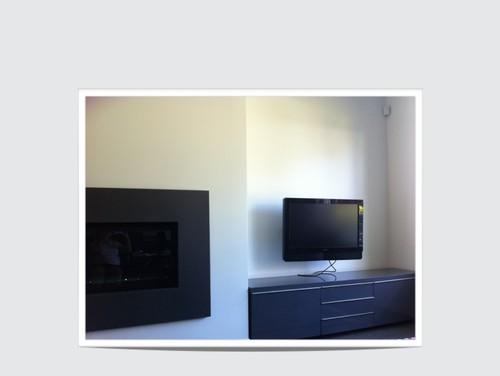 Should I put the Ikea Besta Burs shelf over the media cabinet?