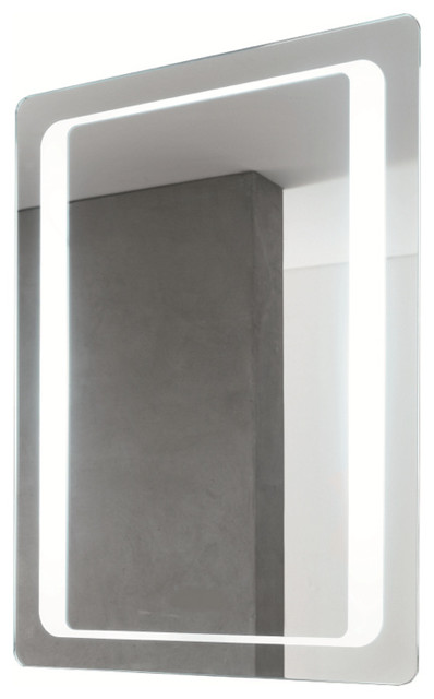 Large Fluorescent Light Mirror - Contemporary - Bathroom Mirrors - by ...