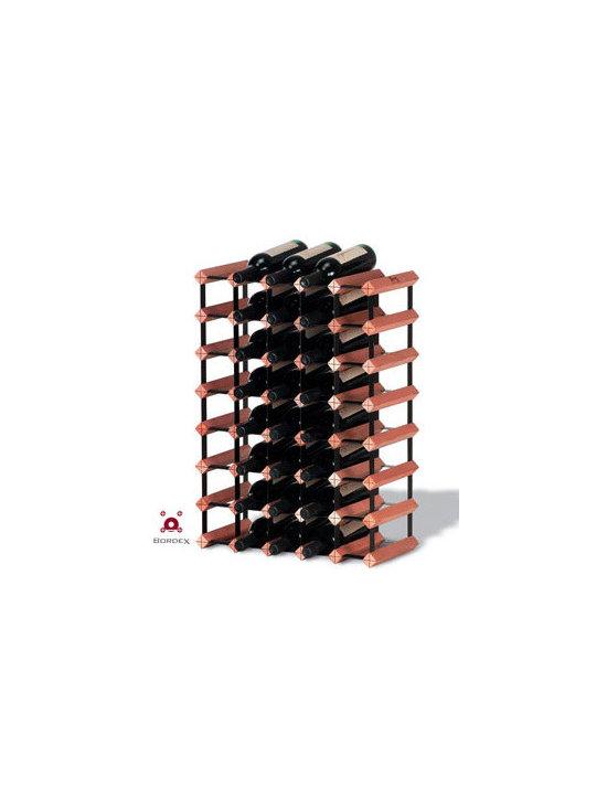 Bordex 40 Bottle Wine Rack Kit -