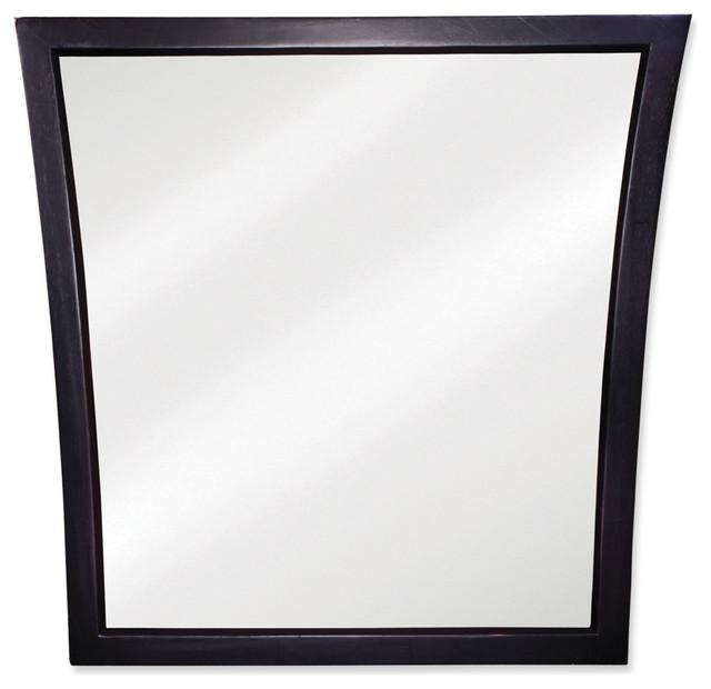 Lyn Design MIR032 Black Mirror traditional-mirrors