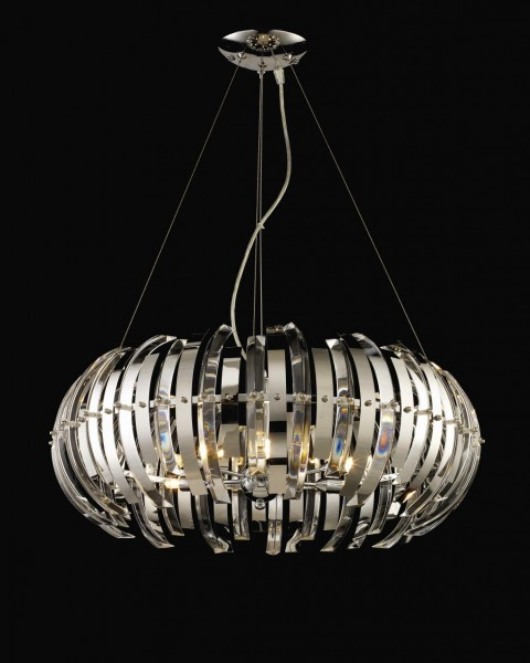 Large Pendant Lights For Foyer Australia : Large aurora contemporary crystal pendant light designer