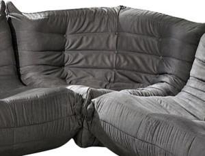 Waverunner Corner in Light Gray modern-sectional-sofas