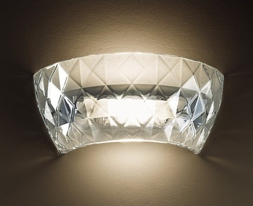 Atelier Wall Light in Clear by Archirivolto modern wall sconces